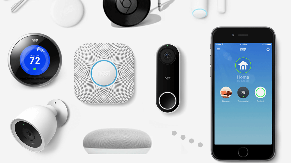 Nest products for smart home can be installed by Speck Family Electric